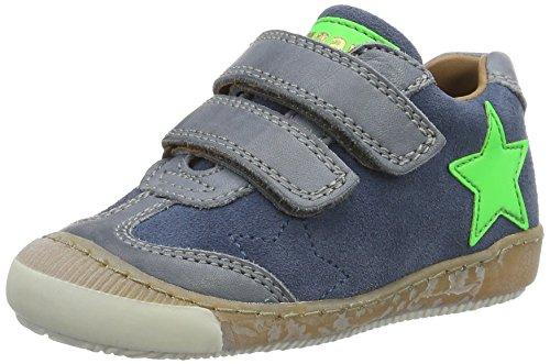 Bisgaard Klettschuhe - Zapatillas Unisex Niños Blau (603-2 Jeans)