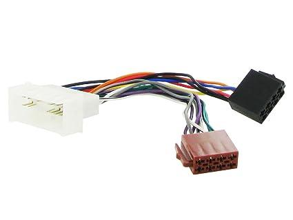 Arnés Cableado Iso Conector Adaptador Estéreo Cable Radio Cableado para Kia Rio