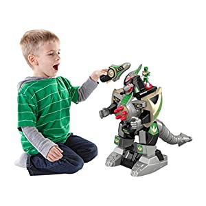 Fisher-Price Imaginext Power Rangers Green Ranger & Dragonzord RC - 51V6KxfcMjL - Fisher-Price Imaginext Power Rangers Green Ranger & Dragonzord Rc