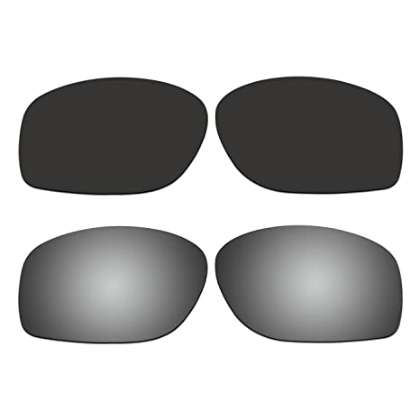 d82858685ff Amazon.com   ACOMPATIBLE 2 Pair Replacement Polarized Lenses for ...