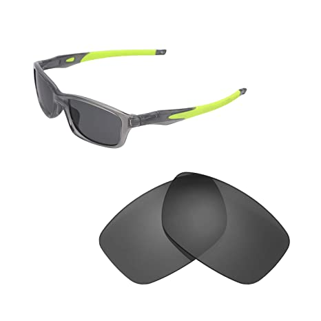 80d719ecaf Walleva Replacement Lenses for Oakley Crosslink 55 (OX8030 Series)  Sunglasses - Multiple Options Available