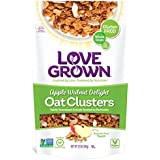 Love Grown Apple Walnut Delight Oat Clusters, 12 oz. Bag, 3-Pack