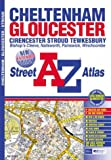 Front cover for the book A-Z Cheltenham, Gloucester and Stroud (Street Maps & Atlases) by Geographers' A-Z Map Company