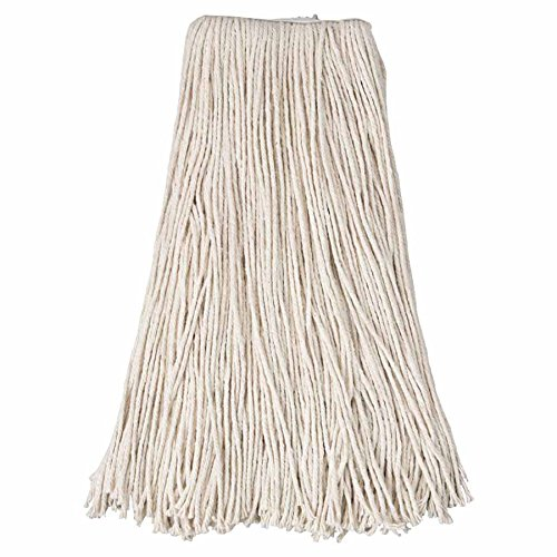 Cotton Saddle Mop Heads, 24 oz, For Wingnut; Quickway; Big Jaw Handles (20 Pack)