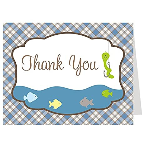 Amazon Com Thank You Cards Baby Shower Thank You Cards Catch The