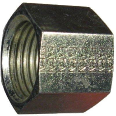 Eaton Aeroquip ORS Cap Hydraulic Hose Adapter Trivalent Chromate Zinc FF9863-08S - 1 -