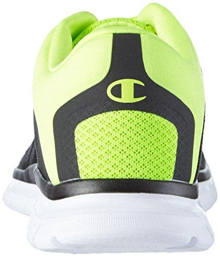 Champion Low Cut Shoe Alpha - Zapatillas Hombre Negro (New Negro / LIME 2256)