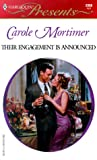 Their Engagement Is Announced, Carole Mortimer, 0373120982