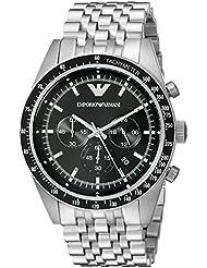 Emporio Armani Mens AR5988 Sport Silver Watch