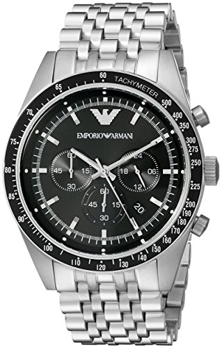 - Emporio Armani Men's AR5988 Sport Silver Watch