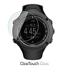 Suunto Ambit2 R Screen Protector, BoxWave® [ClearTouch Glass] 9H Tempered Glass Screen Protection for Suunto Ambit2 R