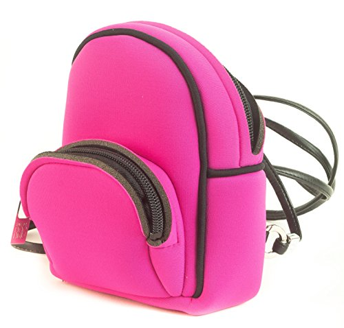 SAVE MY BAG - BABY LYCRA THAI. Mini-mochila. Ligera, resistente al agua, lavable. Rosa
