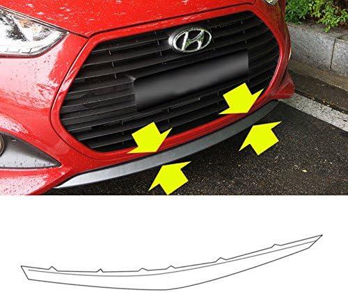 Automotiveapple Hyundai Motors OEM Genuine 865802V500 Front Bumper Lip Lower UNPAINTED 1-pc for 2013~2015 Hyundai Veloster Turbo