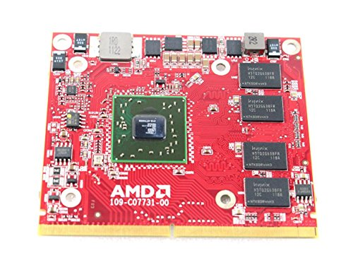 AMD ATI Mobility Radeon HD 5470 1GB GDDR3 PCIe 2.0 x16 Laptop Video Card For Dell Inspiron One 2305 XV825