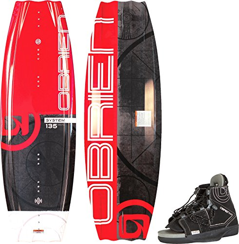 O'Brien System Wakeboard with Clutch 11-14 Bindings, 140cm