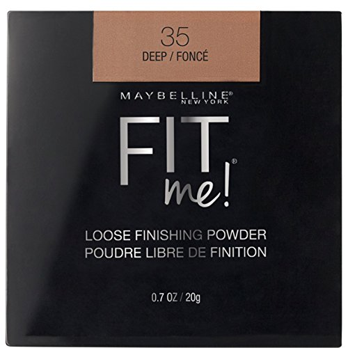 Maybelline New York Fit Me Loose Finishing Powder, Deep, 0.7 oz.
