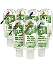 Travel Hand Sanitizer Set of 7 Antibacterial Hand Sanitiser Gel Pocket Size Cleanser