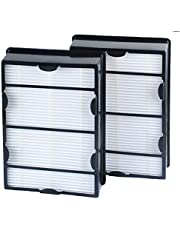 True HEPA Air Filter Replacement for Holmes HRC1 HAPF600 HAPF600DM-U2 Air Purifier Filter Attachment Part for Bionaire Air Filter Accessory 2 Pack