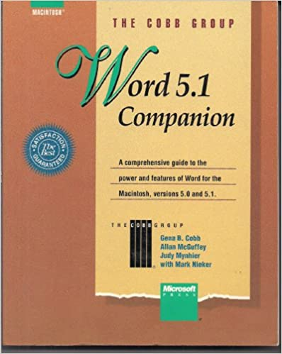 Kindle ladattavat kirjat Word 5.1 Companion: A Comprehensive Guide to the Power and Features of Word for the Macintosh, Versions 5.0 and 5.1 CHM 1556155441