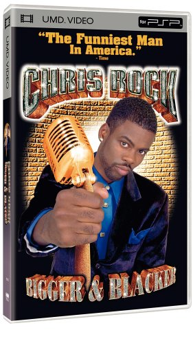 Price comparison product image Chris Rock - Bigger & Blacker [UMD for PSP]