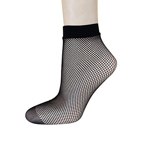 MIOIM Women Black Fishnet Short