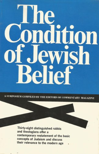 the condition of jewish belief - 3
