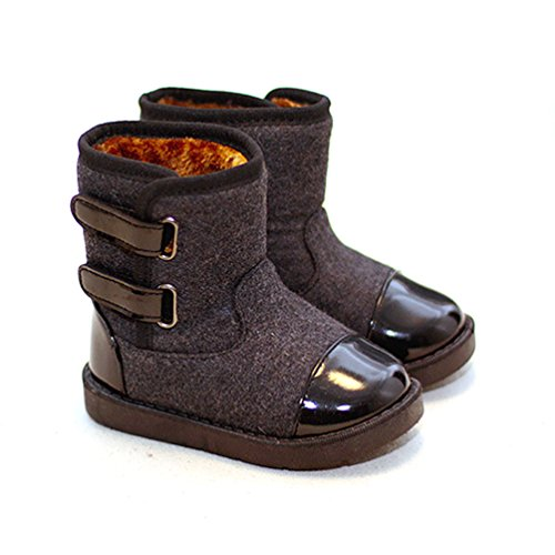 D.LIN Boys & Girls Alaska Snow Boots (Toddler Little Kid) -