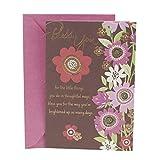Hallmark Mahogany Religious Thank You Greeting Card (Flowers)