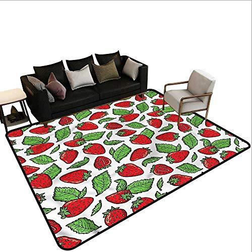 Fruit,Anti-Slip Toilet Doormat Home Decor 36