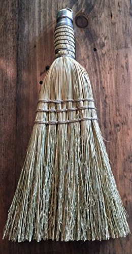 100% Authentic Handmade, Hand-stitched Amish Corn Whisk Hand / Table Broom