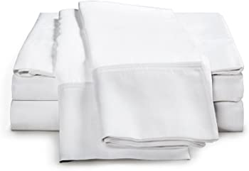 4-Piece Thread Spread Egyptian Queen Size Cotton Bed Sheets