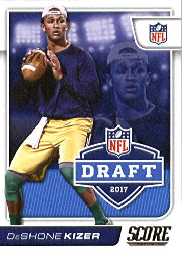 2017 Score NFL Draft #4 Deshone Kizer Notre Dame Fighting Irish Football Rookie ()