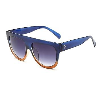 des lunettes de soleil,LHWY Lunettes de soleil en miroir Vintage verres de lunette de sport en plein air (Or, F)