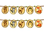 Woodland Creatures of the Forrest Banner Set