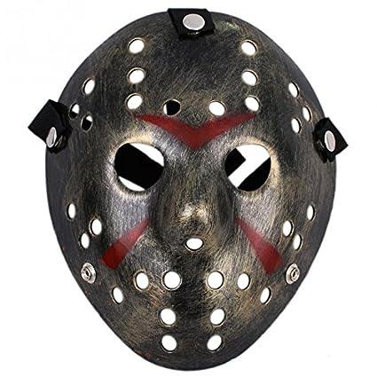 Wuiyepo Mascara Jason de Viernes 13 Halloween Disfraz: Amazon.es: Juguetes y juegos