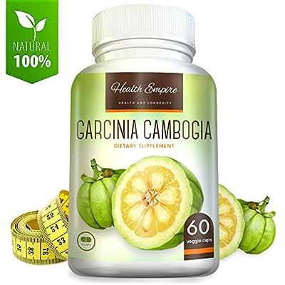 Garcinia Cambogia - 100% Pure Garcinia Cambogia Extract with HCA (1600mg) - 60 Capsules - Order Risk Free!
