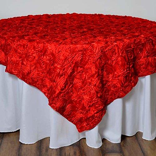 tableclothsfactory Wonderlandロゼットテーブルオーバーレイ72