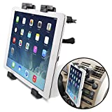 Okra Universal Tablet Air Vent Car Mount Holder with 360 Rotating swivel compatible w/ Apple iPad, Samsung Galaxy Tab, and all Tablet Devices 7 to 11