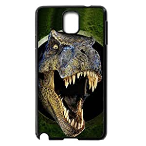 Cool Horror Jurassic Dinosaur Coming Run Hard Case Cover for Galaxy Note 3 by supermalls