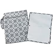 Sarah Wells  Pumparoo  for Breast Pump Parts, Wet Dry Bag with Staging Mat (Gray)