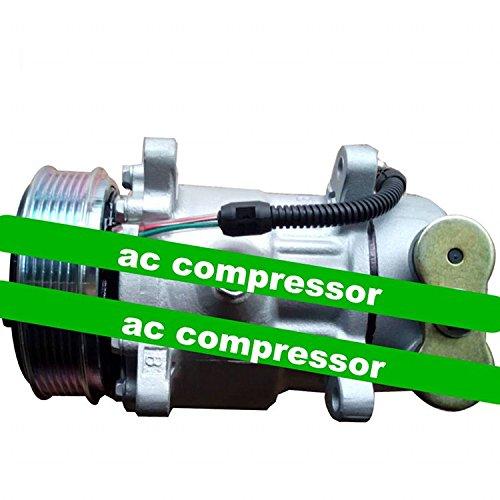 GOWE AC Compresor para 6 V12 AC Compresor para Peugeot 206 1.4L Bomba de aire acondicionado: Amazon.es: Bricolaje y herramientas