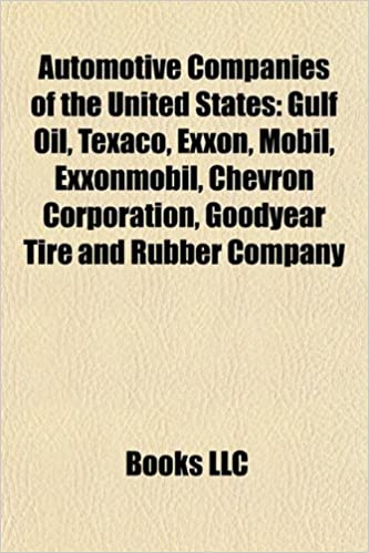 Automotive companies of the United States: Gulf Oil, Texaco
