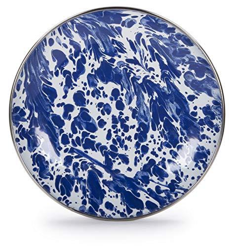 Golden Rabbit Enamelware Cobalt Blue Swirl 5.75