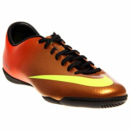 ac2f9a9f4 Nike Men's NIKE MERCURIAL VICTORY IV IC INDOOR SOCCER SHOES 10.5 Men US  (SUNSET/