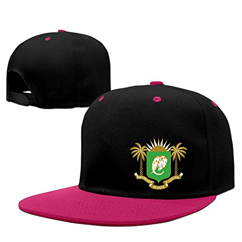 Coat Of Arms Of Ivory Coast= Cotton Adult Hip-hop Hat Baseball Hat -