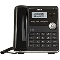 RCA IP110S VoIP Corded 2-Line Telephone