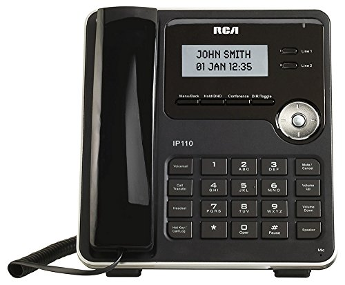 (RCA IP110S VoIP Corded 2-Line)