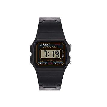 AIUSD - Reloj de Pulsera analógico y Digital para niños (LED, Resistente al Agua): Amazon.es: Hogar