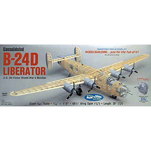 Guillow's Consolidated B-24D Liberator Model