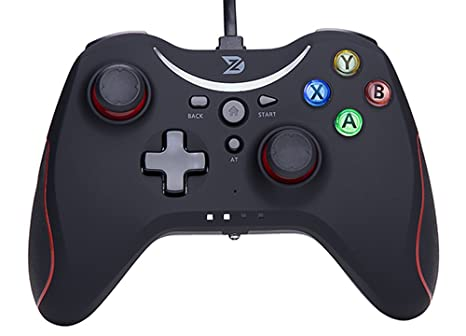 ZD T Gaming Wired Gamepad Controller Joystick for PC(Windows XP/7/8/8 1/10)  / Playstation 3 / Android/Steam - Not Support The Xbox 360/One